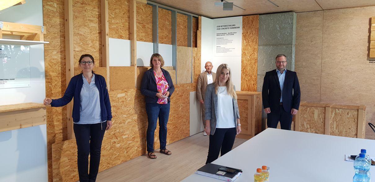 HSK Wirtschaftstour 2021 – Egger Holzwerkstoffe Brilon GmbH & Co. KG