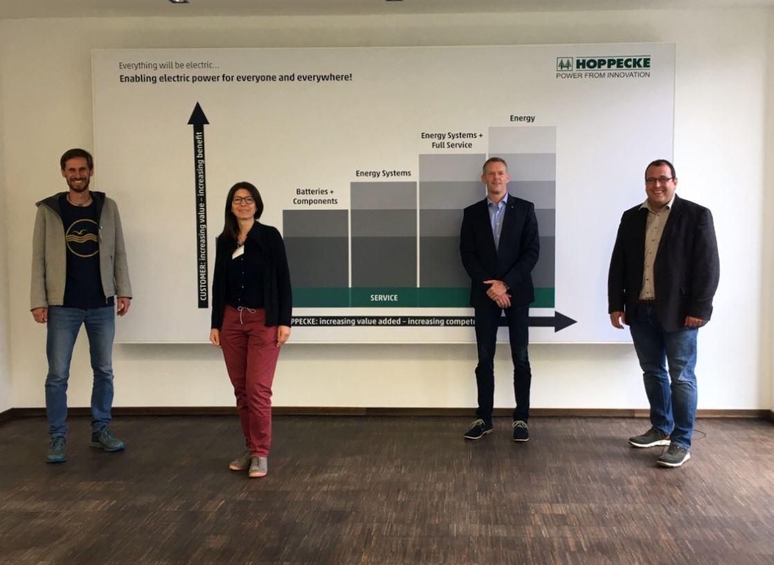 HSK Wirtschaftstour 2021- Firmengruppe Hoppecke